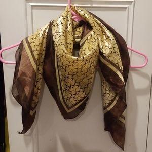 Silky Coach scarf